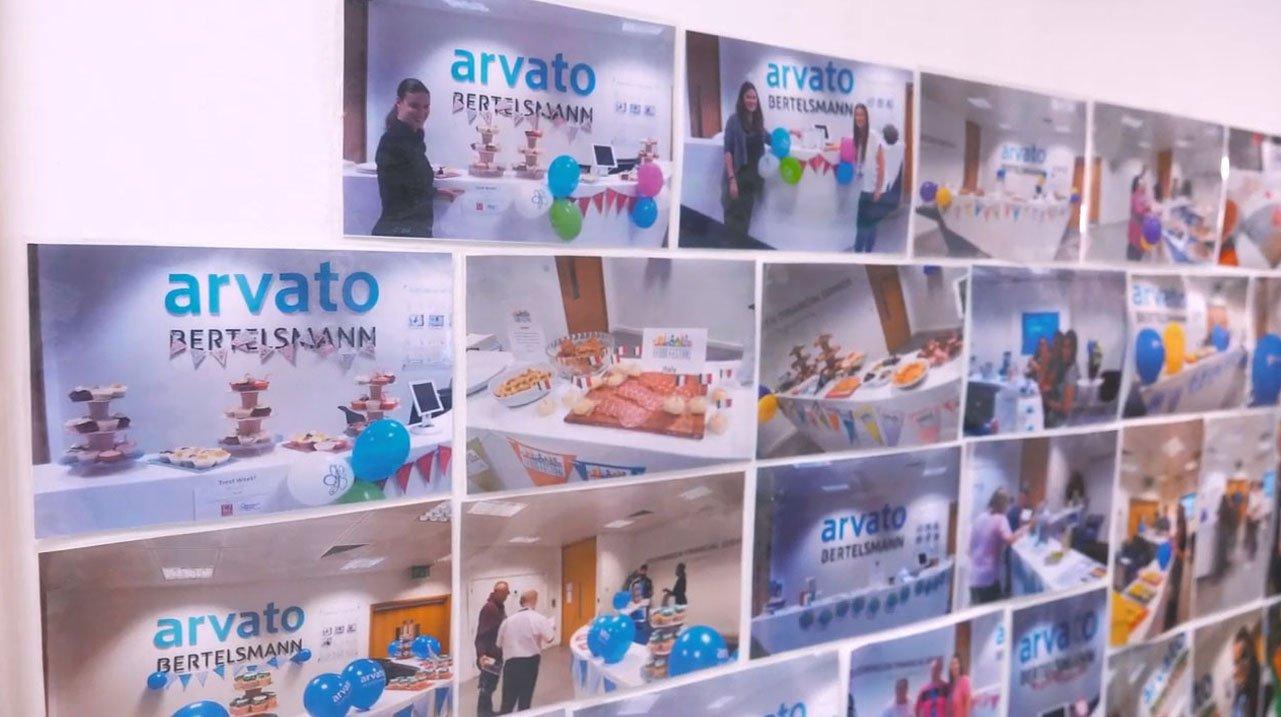 Staff Photos Wall